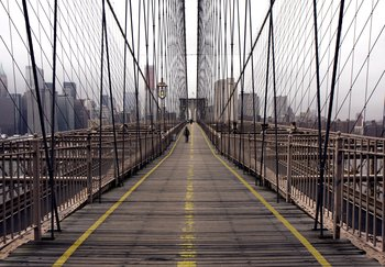 Fototapet Brooklyn Bridge