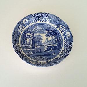 Spode Blue Italian djup assiett 15 cm