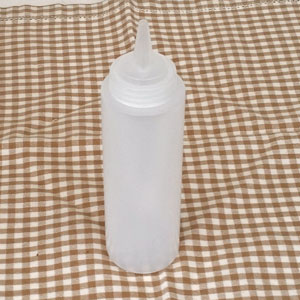 Olje vinägerflaska i plast 0,5 L