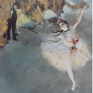 Danseuse sur scène