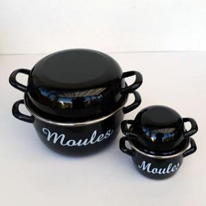 Portionsgryta för musslor