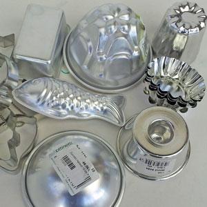 aluminiumformar små