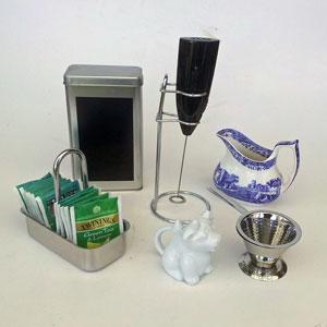Tillbehör kaffe och te