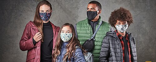 Ansiktsmasker - Tvättbara Många olika färger Ingen fraktkostnad på ansiktsmasker