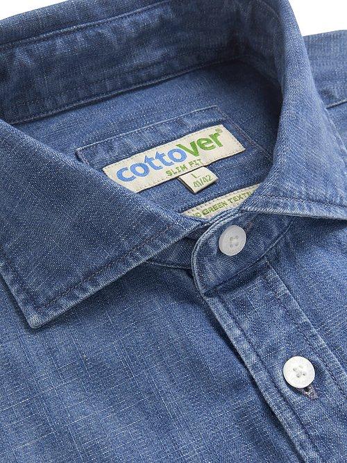 Nyhet 2020! Jeansskjorta - Cottover Fairtrade, EKO & GOTS