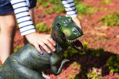 Varje dinosaurie är målad och formad för hand, vilket gör att varje djur är helt unik. Precis som det var tillbaka på kritaperioden. Såklart är de målade med giftfria färger. Våra dinosaurier är tillverkade av naturgummi från gummiträden på Sri Lanka.