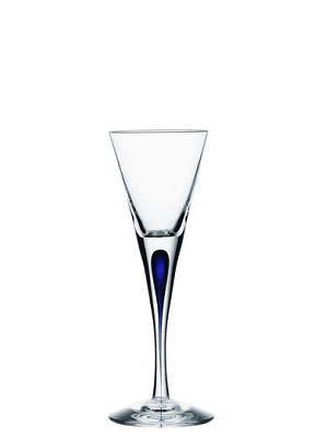 Intermezzo Blue Shot Glass - Orrefors