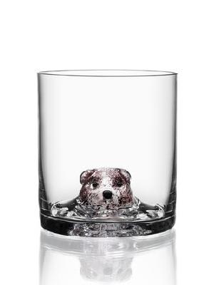 New Friends OF Bear Whiskey glass - Kosta Boda