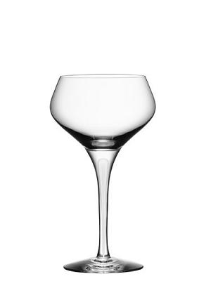 Intermezzo Satin Champagne Coupe - Orrefors