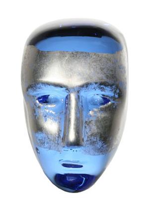 Brains Blå/Silver Jiménez - Kosta Boda
