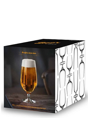 Beer Lager 4-pack - Orrefors Beer Glass