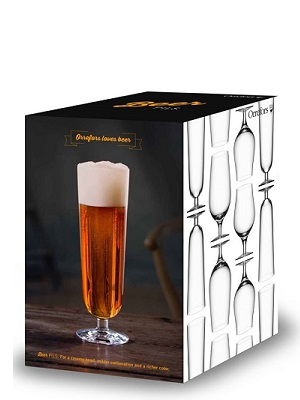 Beer Pils 4-pack - Orrefors Beer Glass
