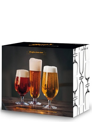 Beer Collection 3-pack - Orrefors Beer Glass
