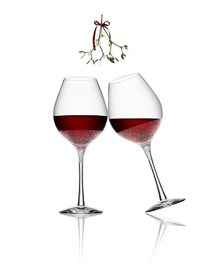 Divine Red Wine Glass - Orrefors