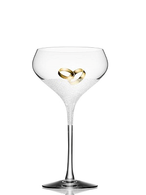Divine Champagne Glass Coupe - Orrefors