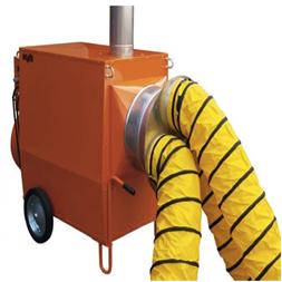 Byggtork -50 kW Olja