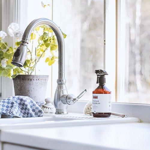 Ekologisk städning  Hållbara produkter för ditt hem