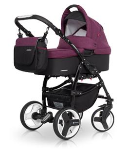 Euro-Cart  Passo  2020 2-in-One Duo Kombi sport utan Bilstol    ( Purple)  Leveranstid  ca 15 dagarr