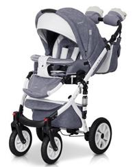 Brano Ecco 2020 Duo kombi  Stone  med Bilstol. Omgående leverans