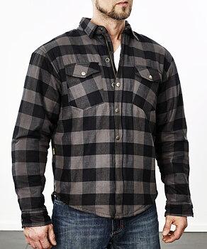 BE Kevlar skjorta Grey/Black (storsäljare)