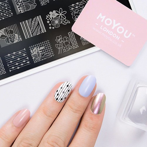 MoYou London Nail Art Stamping