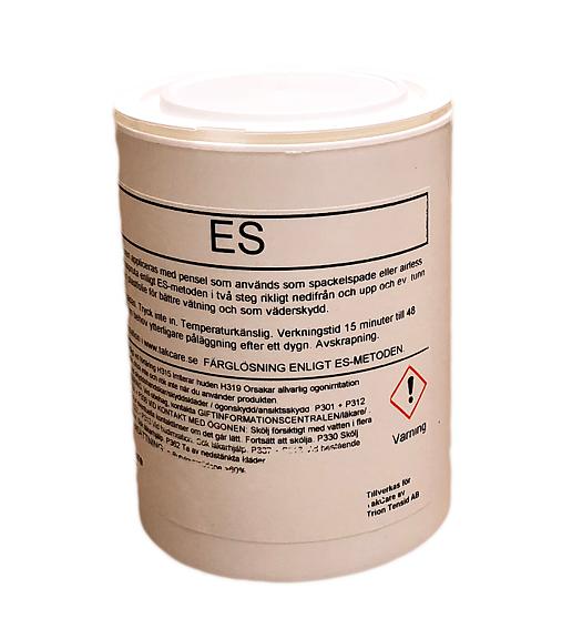 Välkända tabortfärg,ta bort färg,ES, puts,betong,gips,metall,skonsamt GD-72