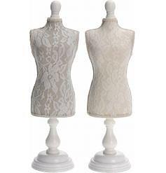 Smyckeshållare Mannequine, ljust beige