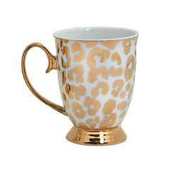 Christina Re kopp leopard guld