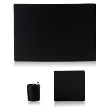 Skrivbordsset standard svart