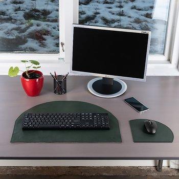 Skrivbordsunderlägg Cresent Grön