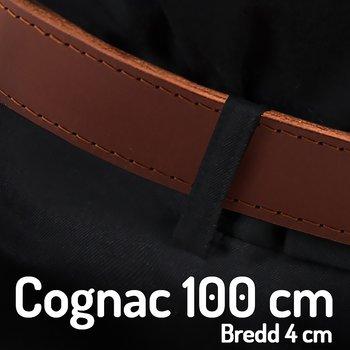 Skärp 100 cm Cognac 4 cm
