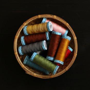 Tråd i 100% naturligt silke