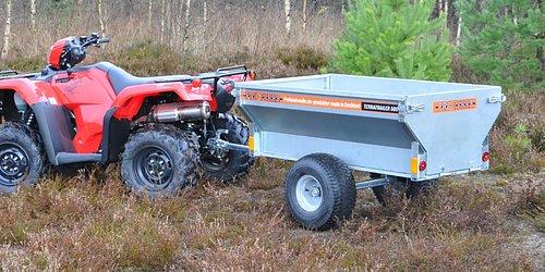 TT500 - svensk kvalitet! Liten vagn med stor kapacitet