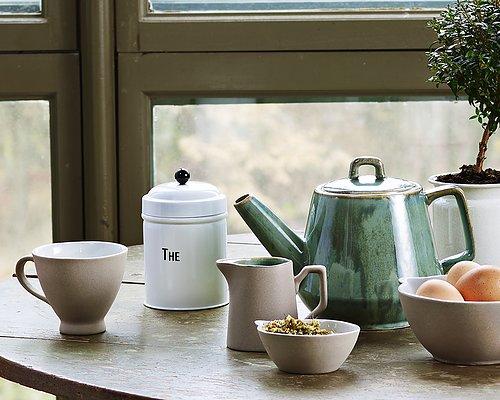 Kopp i matt keramik