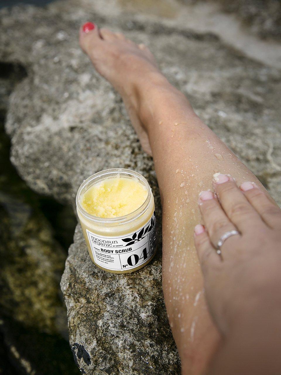 moonsun organic face cream