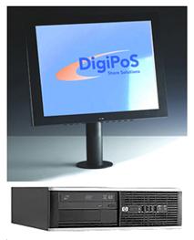 36 Mån leasing av DigiPoS - HP kassasystem