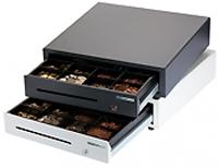 Kassalåda, svart, dim B410 x D415 x H114