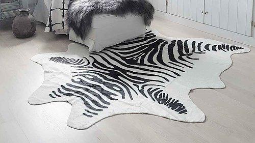 EN AV VÅRA BÄSTSÄLJARE! Kohud Zebra i konstmaterial