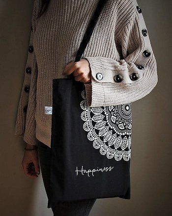 Black Bag Happiness Maja Cottage