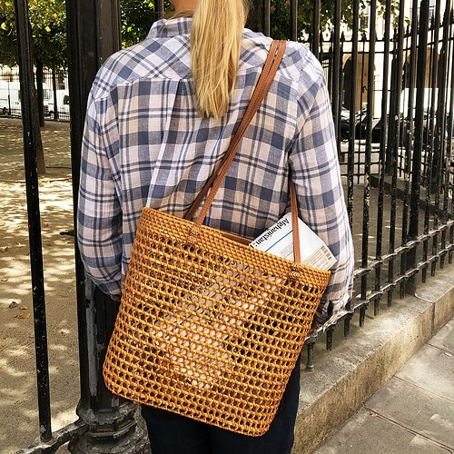 SIENA Rattan Basket Bag