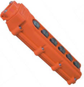 Actuator Handheld Control box with 6 buttons
