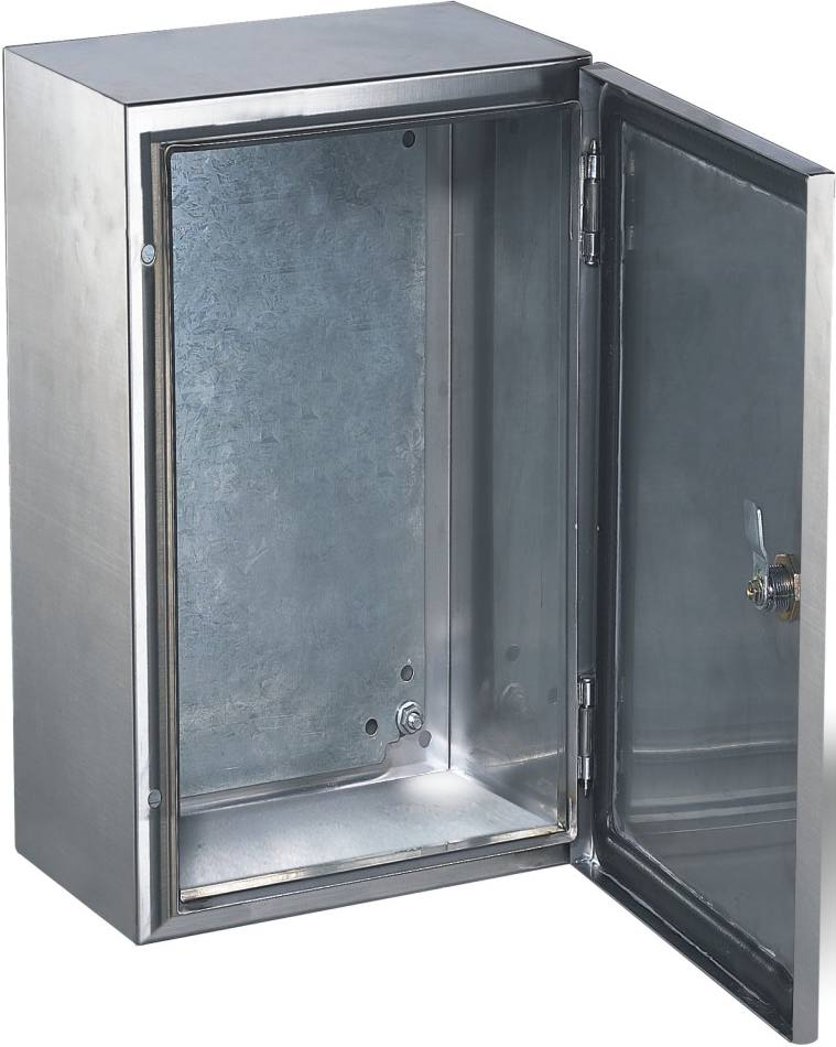Rostfria skåp enkeldörr