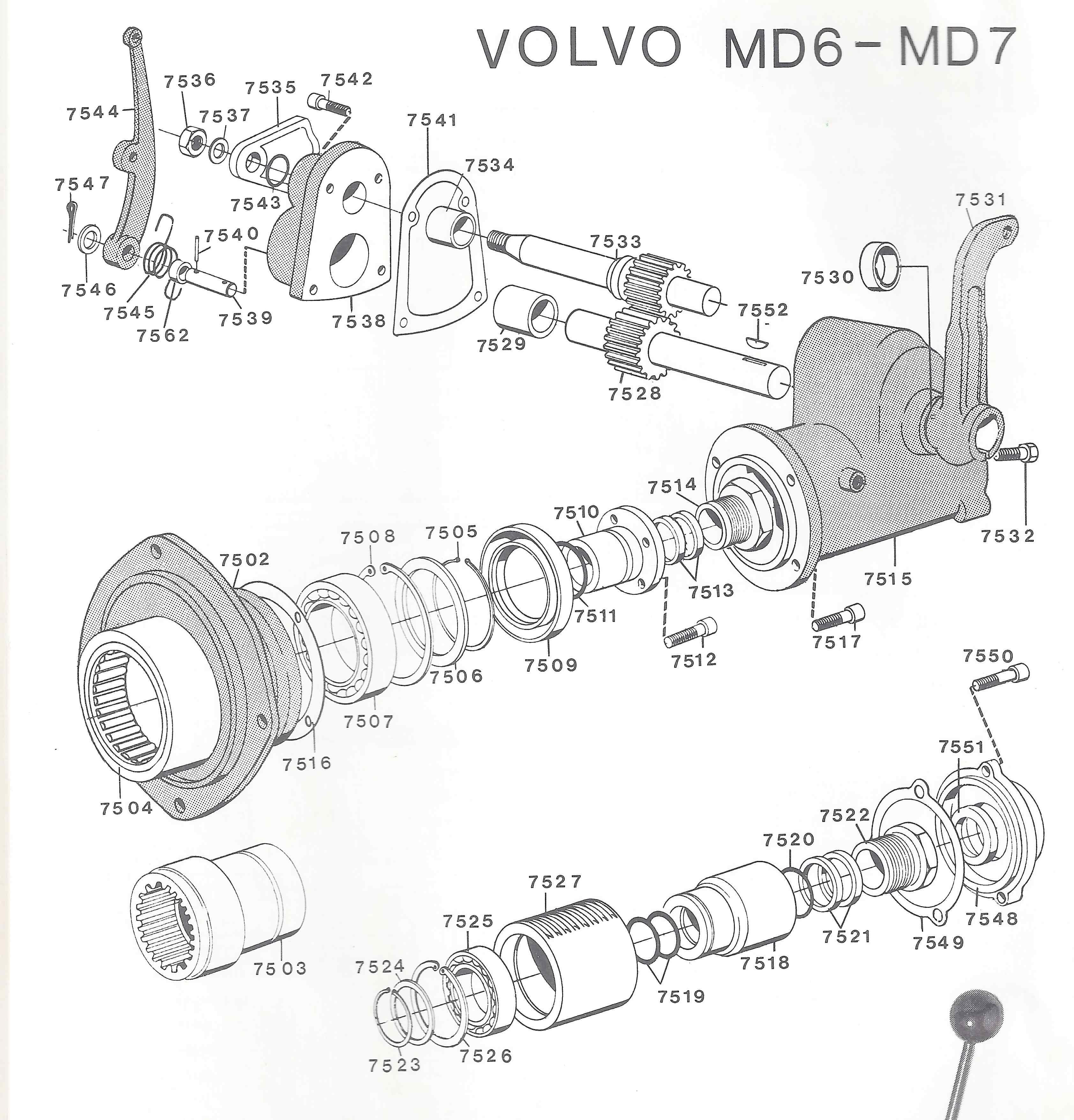 Volvo MD6-7 Kombi