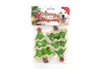 Jultugg till hunden Julgran