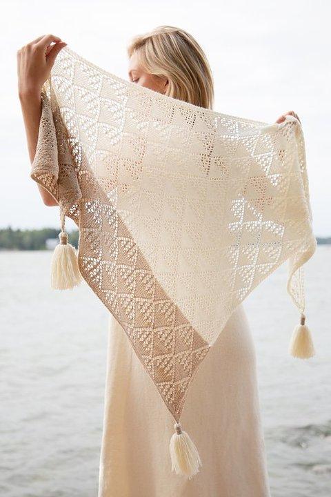 Vacker sjal i Venla