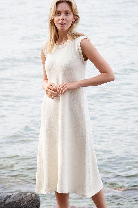Enkel klänning i Cotton Soft