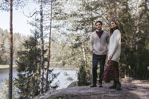 NOVITA  Nordic Wool Vi startar en KALpå vår blogg i början på Mars i detta fina ullgarn. Spunnet i Finland med nordisk ull.