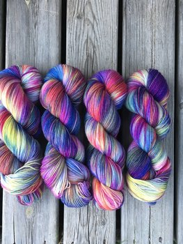 Poldale Sock-  Purple Mermaid