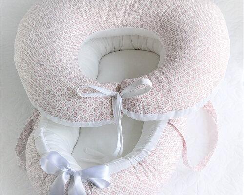Amningskudde I matchande tyger till babynests 2 storlekar