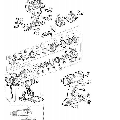 Reservdelar Panasonic Tools
